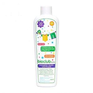 Detergente Líquido Lava Roupas Bioclub Baby 500ml
