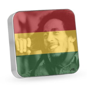 "Carregador Portátil ""Powerbank"" Bob Marley com 7.800 mAh"