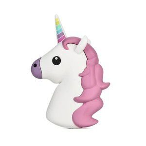 "CARREGADOR PORTATIL ""POWERBANK"" EMOJIS DE UNICORNIO"