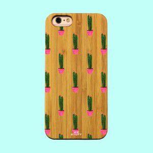 """Capa para Celular """"Case"""" Cacto Bambu"""