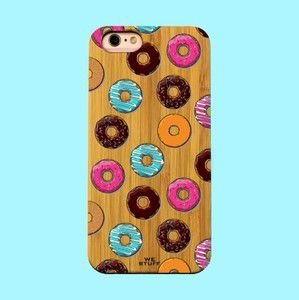 "Capa para Celular ""Case"" Donuts Bambu"