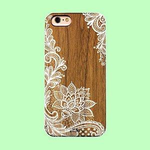 """Capa para Celular """"Case"""" Flor de Lotus Bambu"""