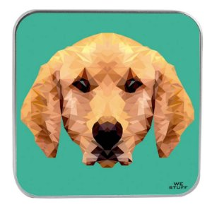 "CARREGADOR PORTATIL ""POWERBANK"" STYLE LABRADOR DOG COM 7.800 mAh"