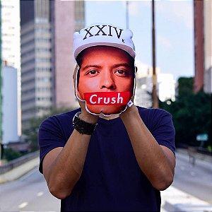 ALMOFADA FORMATO DO ROSTO - BRUNO MARS É MEU CRUSH