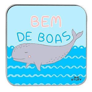 """Carregador Portátil """"Powerbank"""" Bem de Boas com 7.800 mAh"""