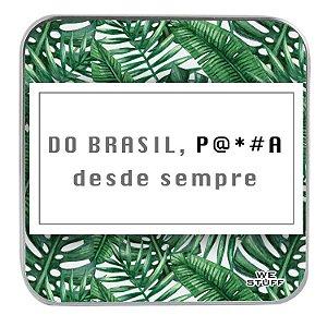 """Carregador Portátil """"Powerbank"""" É Brasil com 7.800 mAh"""