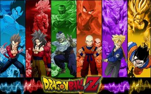 DRAGON BALL Z 005 A4