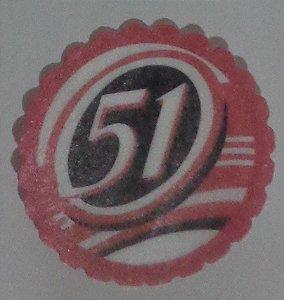 51 MEDALHAO 5 CM - 15 UNIDADES CORTADO