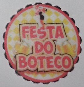 FESTA DE BOTECO 001 MEDALHAO 5 CM - 15 UNIDADES CORTADO