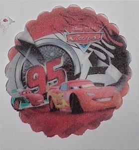 CARS 001 MEDALHAO 5 CM - 15 UNIDADES CORTADO