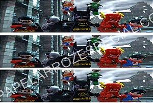 LIGA DA JUSTIÇA LEGO FAIXA LATERAL 001 A4