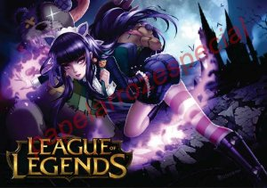 LEAGUE OF LEGENDS 001 A4