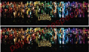 LEAGUE OF LEGENDS FAIXA LATERAL 002 9 CM