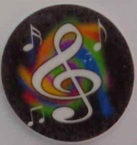 HÓSTIA NOTA MUSICAL 001 (20 UNIDADES)