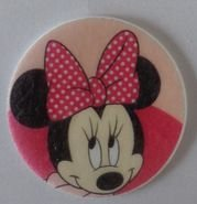 HOSTIA MINNIE ROSA 003 (20 UNIDADES)