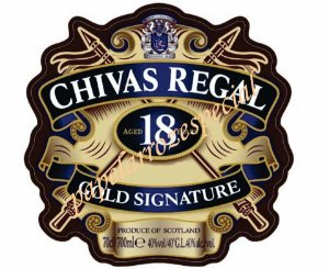 CHIVAS REGAL ROTULO 19 CM