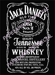 WHISKY JACK DANIELS (28x18) RETRATO A4