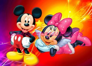 MICKEY E MINNIE 005 A4