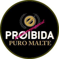 PROIBIDA MEDALHÃO 5 CM (15 UNIDADES)
