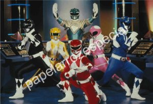 POWER RANGER 002 A4