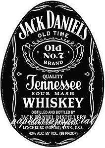 OVO COLHER WHISKY JACK DANIELS 001 250 G (02 UNIDADES)