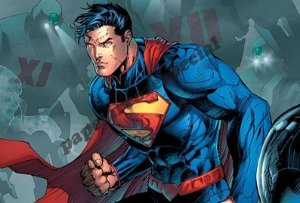 Super Homem Papel Arroz Especial