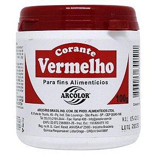 CORANTE EM PÓ VERMELHO ARCOLOR 100G