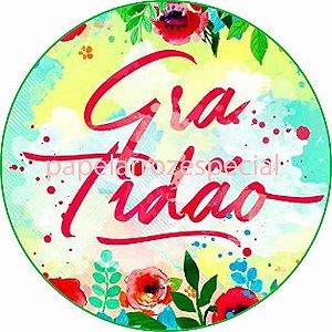 GRATIDÃO 002 19 CM