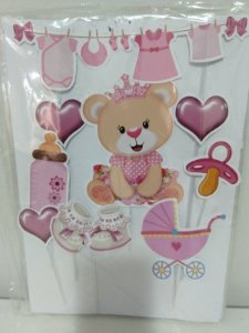 Chá De Bebê Papel Arroz Especial