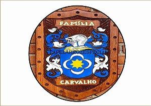 BRASÃO DA FAMÍLIA CARVALHO