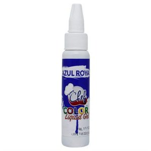 CORANTE LIQUID GEL  ICEBERG 25G AZUL ROYAL
