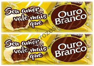OURO BRANCO FAIXA LATERAL 9 CM