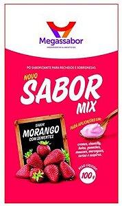 SABOR MIX MORANGO COM SEMENTE 100G (SABORIZANTE)