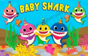 BABY SHARK 001 A4