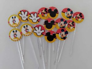 TAGS MICKEY 001 COM HASTE (30 UNIDADES)