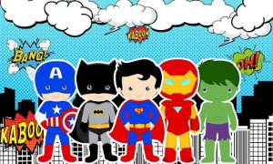 SUPER HEROIS BABY 003 A4