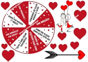 ROLETA DO AMOR (ESCOLHER QUAL TIPO DE PAPEL)