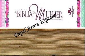 BIBLIA DA MULHER FAIXA LATERAL 9 CM