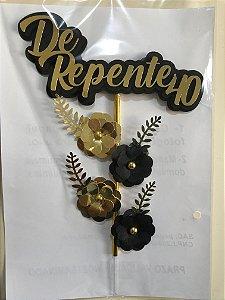 DE REPENTE... TOPO DE BOLO 3D