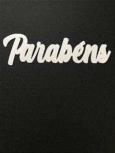 PARABÉNS RECORTADO PAPEL ARROZ PREMIUM (13 CM)
