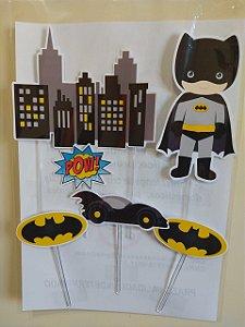 BATMAN CUTE TOPO DE BOLO (PAPEL FOTOGRAFICO)