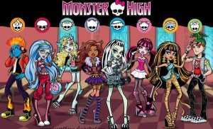 MONSTER HIGH 002 A4