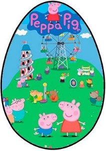OVO COLHER PEPPA PIG 001 250G