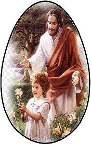 OVO COLHER JESUS CRISTO 001  350G (UNIDADE - PRODUTO RECORTADO)
