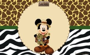MICKEY SAFARI 001 A4