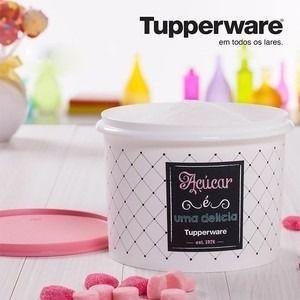 Tupperware Linha Bistrô Caixa Para Açúcar 1,0 Kg