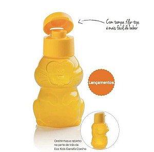 Tupperware Garrafa Infantil Eco Tupper Kids - Coelho Amarelo