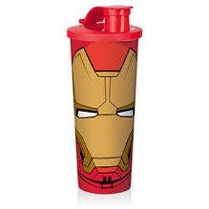 Tupperware Copo  Infantil Com Bico 470ml - Marvel Homem de Ferro