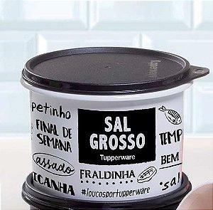 Tupperware Caixa Para Sal Grosso 1,2Kg - Linha PB Fun