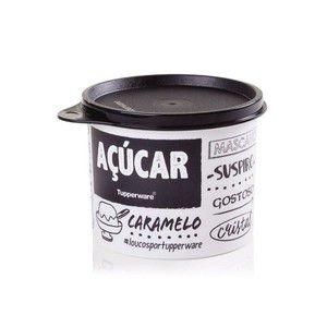 Tupperware Caixa Redondinha Para Açúcar 400g  - Linha PB Fun
